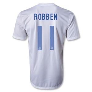 Camiseta nueva Holanda Robben Segunda 2013/2014