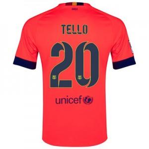 Camiseta nueva Barcelona TELLO Equipacion Segunda 2014/2015