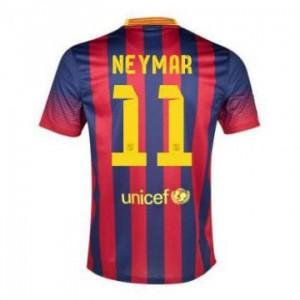 Camiseta nueva Barcelona Neymar JR Equipacion Primera 2013/2014