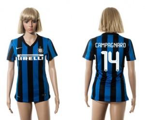 Camiseta Inter Milan 14 2015/2016 Mujer
