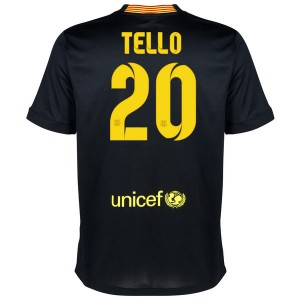 Camiseta Barcelona Tello Tercera Equipacion 2013/2014
