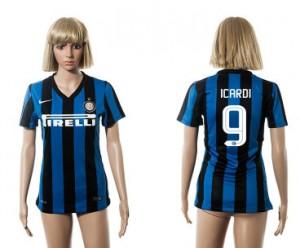Camiseta de Inter Milan 2015/2016 9 Mujer