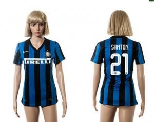 Camiseta Inter Milan 21 2015/2016 Mujer