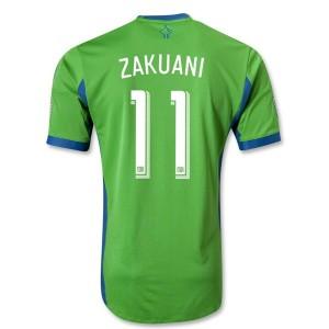 Camiseta de Seattle Sound 2013/2014 Primera Zakuani Tailandia