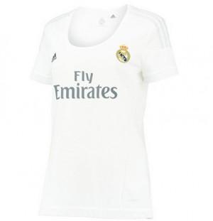 Camiseta nueva Real Madrid Mujer Equipacion Tailandia Primera 2015/2016