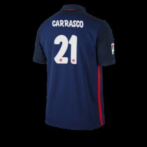 Camiseta nueva del Atletico Madrid 2015/2016 Equipacion CARRASCO Segunda