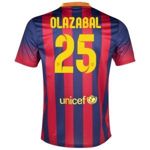 Camiseta nueva del Barcelona 2013/2014 Olazabal Primera