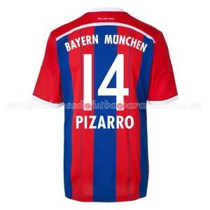 Camiseta Bayern Munich Pizarro Primera Equipacion 2014/2015