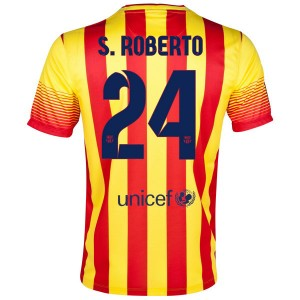 Camiseta Barcelona S.Roberto Segunda 2013/2014