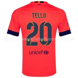 Camiseta nueva del Barcelona 2014/2015 Tello Segunda