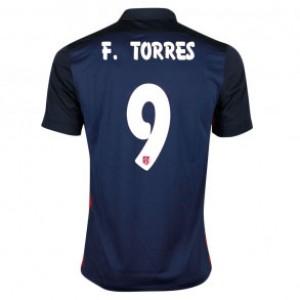 Camiseta nueva del Atletico Madrid 2015 Equipacion FERNANDO TORRES Segunda