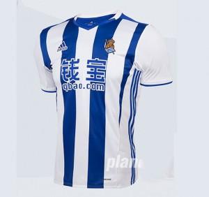 Camiseta nueva del Real Sociedad 2016/2017 Primera