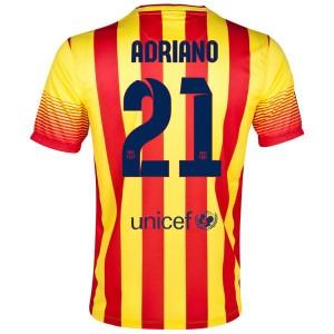 Camiseta de Barcelona 2013/2014 Segunda Adriano