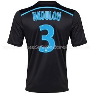 Camiseta Marseille Nkoulou Tercera 2014/2015