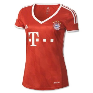 Camiseta Bayern Munich Primera Equipacion 2013/2014 Mujer