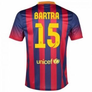 Camiseta de Barcelona 2013/2014 Primera Bartra Equipacion