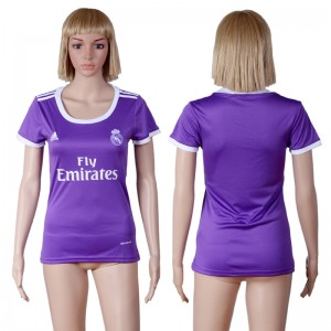 Camiseta de Real Madrid 2016/2017 Segunda Equipacion Mujer