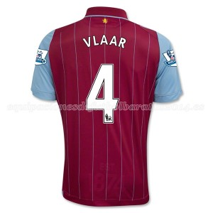 Camiseta nueva del Aston Villa 2014/15 Equipacion Vlaar Primera