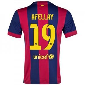 Camiseta nueva Barcelona AFELLAY Equipacion Primera 2014/2015