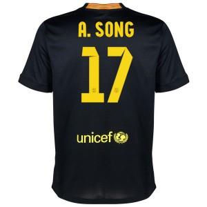 Camiseta de Barcelona 2013/2014 Tercera A.Song Equipacion