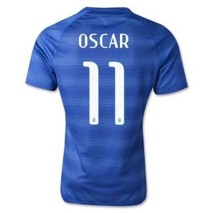 Camiseta del Oscar Brasil de la Seleccion Segunda WC2014