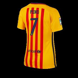 Camiseta nueva Barcelona Mujer Numero 07 Equipacion Segunda 2015/2016