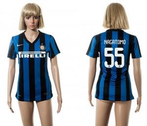 Mujer Camiseta del 55 Inter Milan 2015/2016