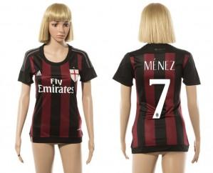 Camiseta nueva AC Milan Mujer 7 2015/2016