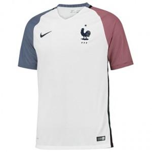 Camiseta Francia Segunda Equipacion 2016