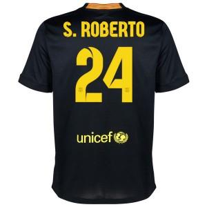 Camiseta del S.Roberto Barcelona Tercera Equipacion 2013/2014