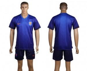 Camiseta nueva Holanda de la Seleccion Segunda WC2014