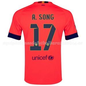 Camiseta de Barcelona 2014/2015 Segunda A.Song