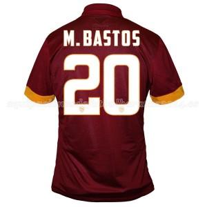 Camiseta de AS Roma 2014/2015 Primera M.Bastos Equipacion