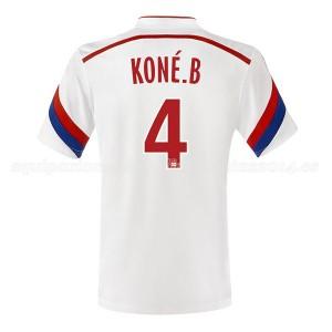 Camiseta de Lyon 2014/2015 Primera Kone