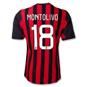 Camiseta nueva AC Milan Montolivo Equipacion Primera 2013/2014