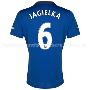 Camiseta nueva Everton Jagielka 1a 2014-2015