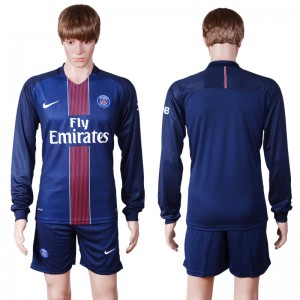 Camiseta del Paris Saint Germain Primera Manga Larga 2016/2017