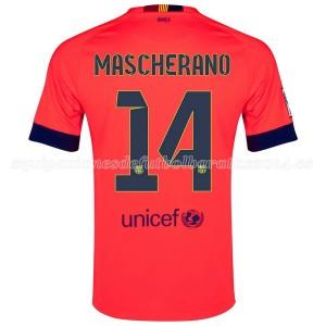Camiseta de Barcelona 2014/2015 Segunda Mascherano
