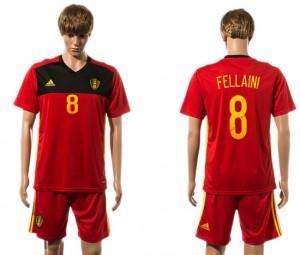 Camiseta nueva Belgium 8# 2015-2016