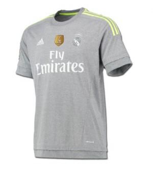 Camiseta del Visitante Real Madrid 2015-2016
