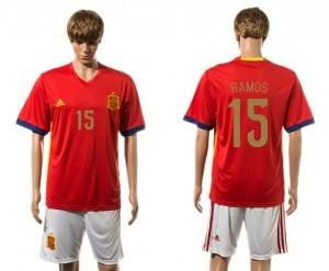 Camiseta de España 2015-2016 15#