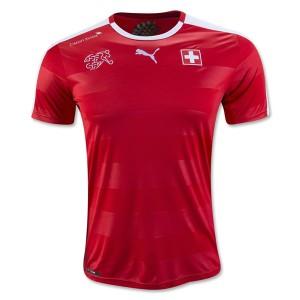 Camiseta nueva del Suiza 2016/2017