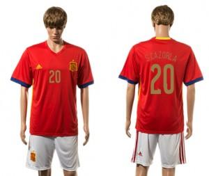 Camiseta España 20# 2015-2016