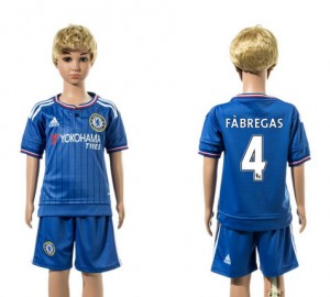 Ni?os Camiseta del 4 Chelsea Home 2015/2016