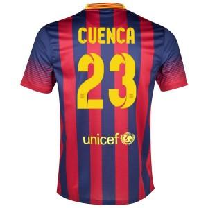 Camiseta nueva Barcelona Cuenca Primera 2013/2014