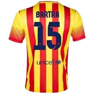 Camiseta nueva del Barcelona 2013/2014 Bartra Segunda