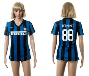 Mujer Camiseta del 88 Inter Milan 2015/2016