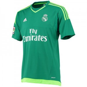 Camiseta Portero nueva Real Madrid Equipacion Segunda 2015/2016