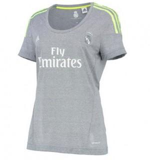 Mujer Camiseta del Real Madrid Segunda Equipacion 2015/2016
