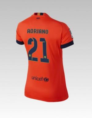 Camiseta del Bartra Barcelona Tercera Equipacion 2013/2014